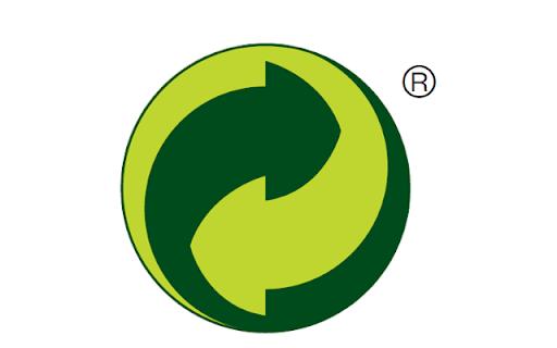 Ceci est un point vert. Présent sur de nombreux emballages.